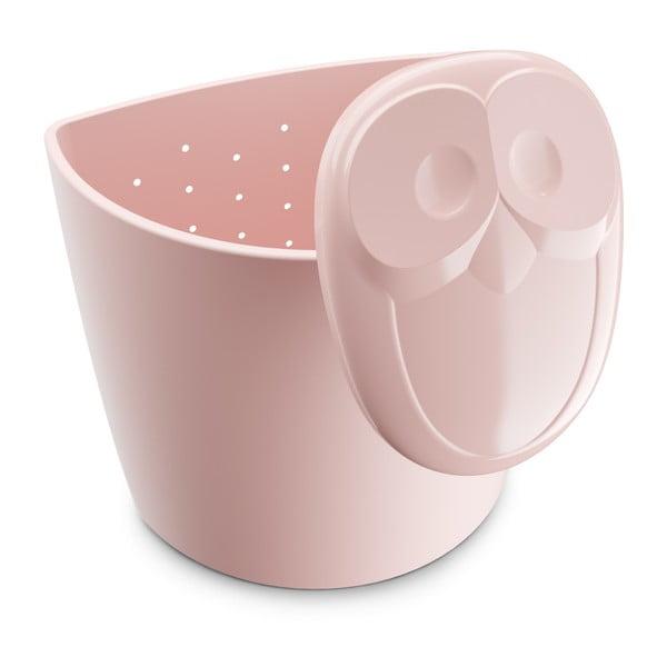 Sită pentru ceai Tantitoni Owl, roz deschis