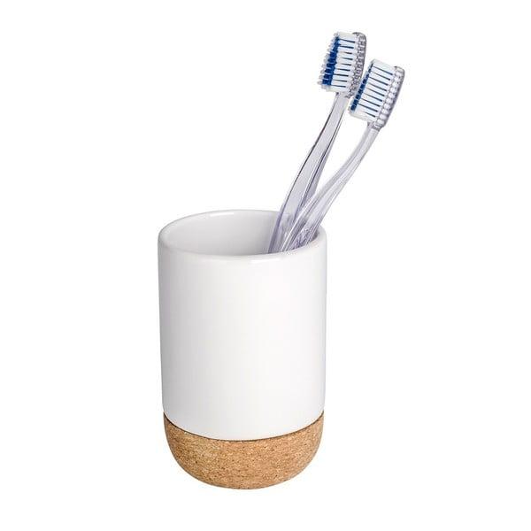 Corc fehér fogkefetartó pohár - Wenko