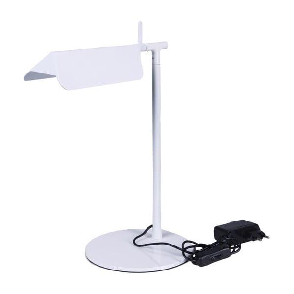 Stolní lampa Wing, bílá