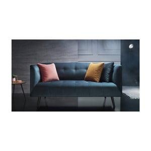 Canapea pentru 3 locuri Bobochic Paris, albastru