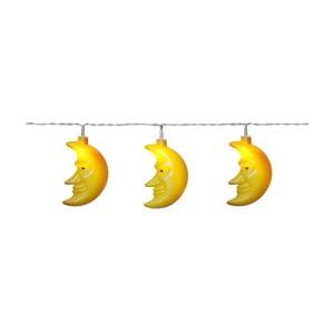Světelný LED řetěz Best Season Moon, 8 světýlek