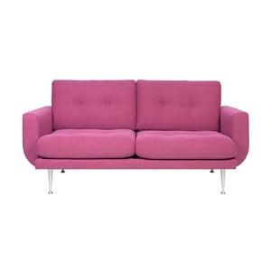 Canapea cu 2 locuri Softnord Fly, roz - violet