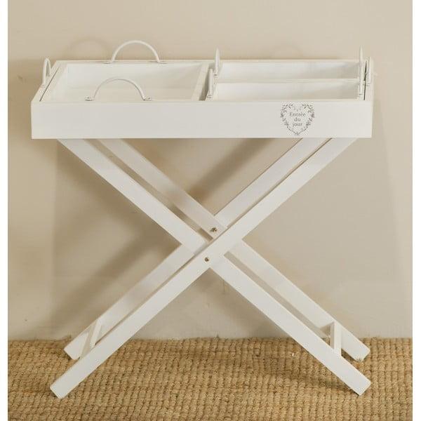 Rozkládací stolek se 3 podnosy Vassoi
