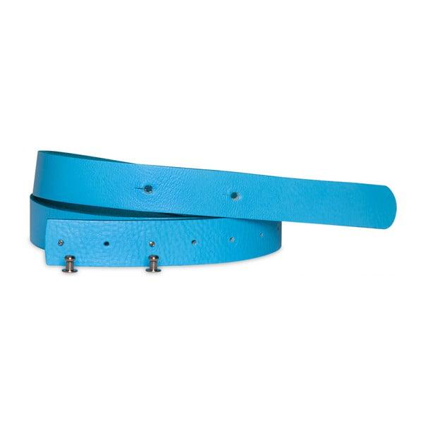 Modrý kožený pásek Woox Mitella, délka 115 cm
