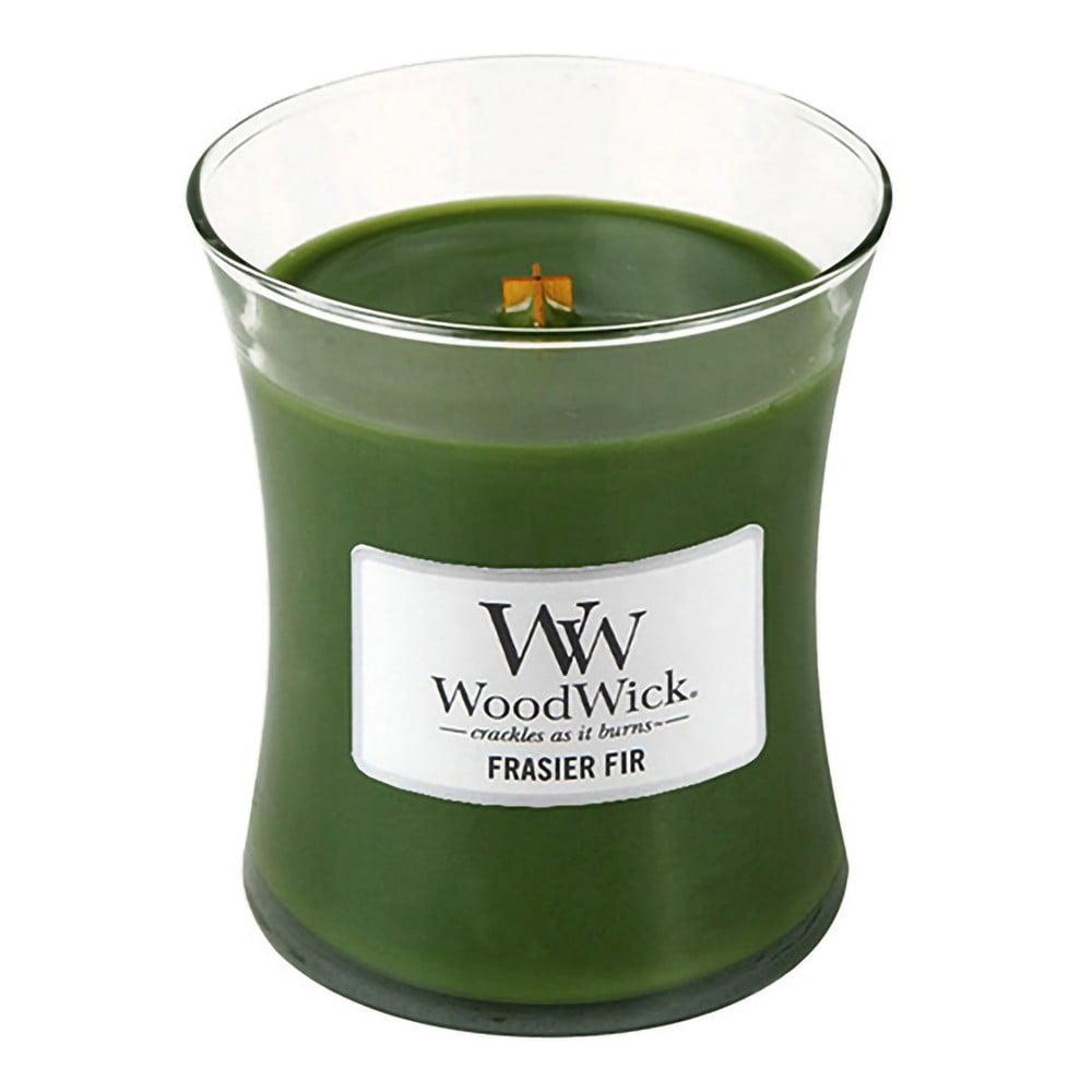 Svíčka s vůní jedle WoodWick, dobahoření60hodin