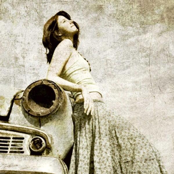 Obraz Stará láska nerezaví, 60x60 cm
