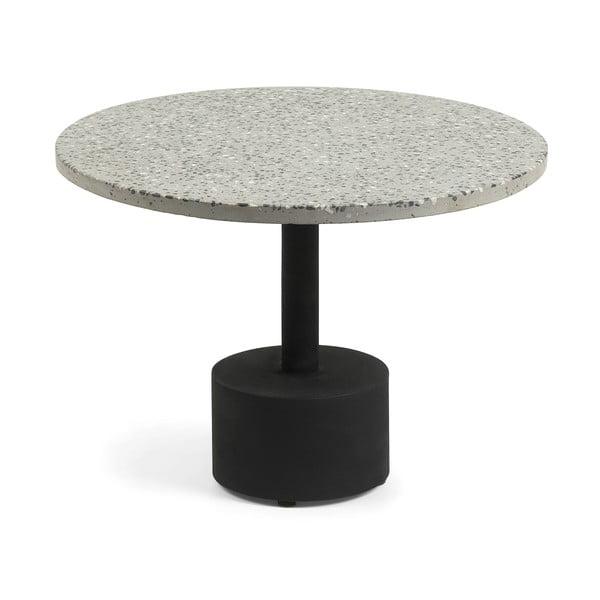 Šedý příruční stolek La Forma Melano