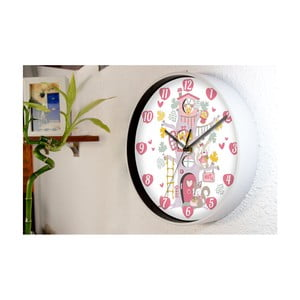 Nástěnné hodiny WALPLUS Happy Tree, ⌀ 25 cm