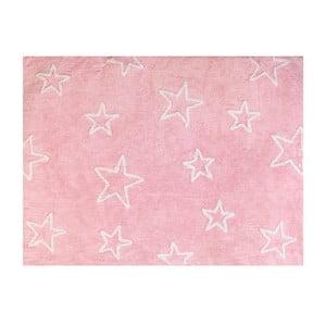 Koberec Estrella 160x120 cm, růžový