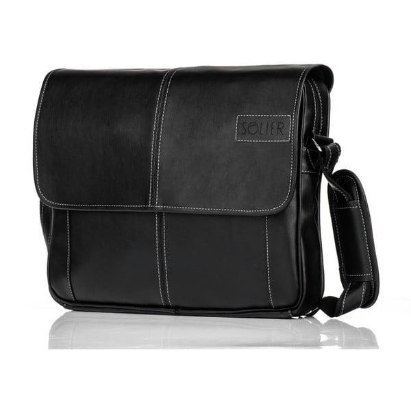 Pánská taška Solier S15, černá
