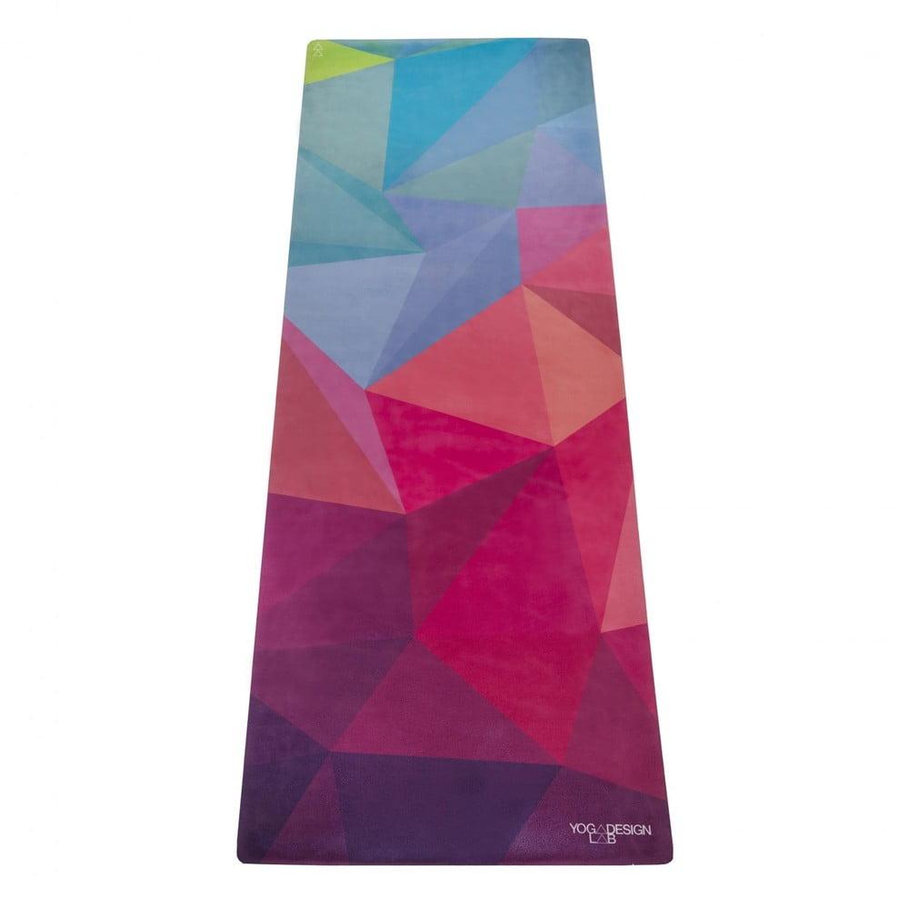 Podložka na jógu Yoga Design Lab Travel Geo, 900 g