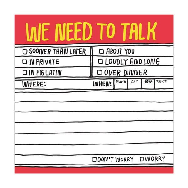 Lepíky  We Need To Talk
