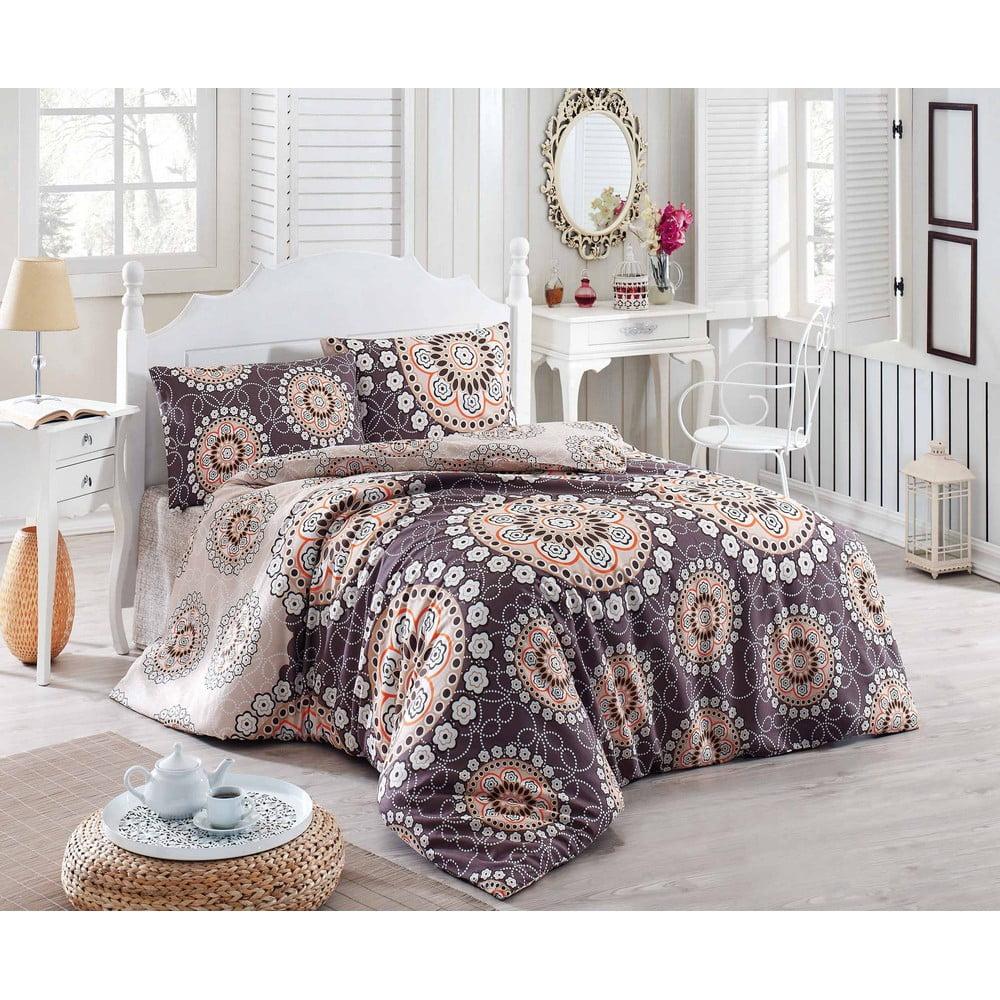 Přehoz přes postel na dvoulůžko s povlaky na polštáře Libras, 200 x 220 cm