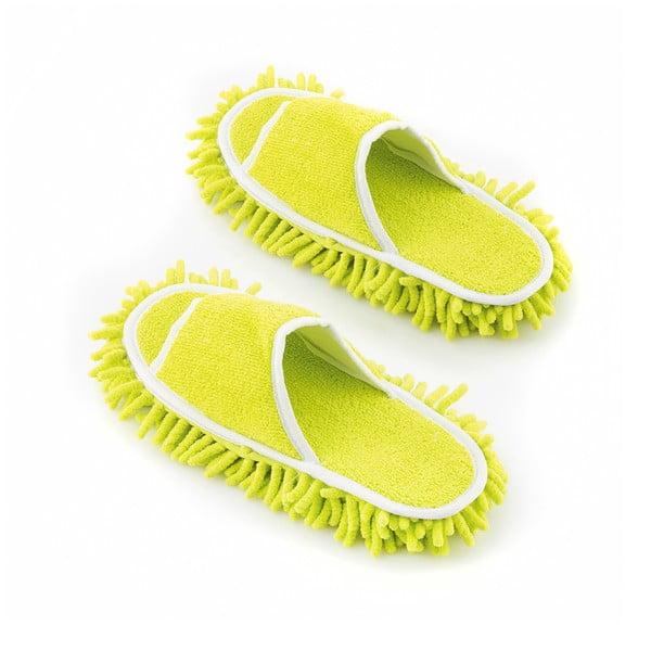 Pantofle z mikrofibry do polerowania podłóg InnovaGoods