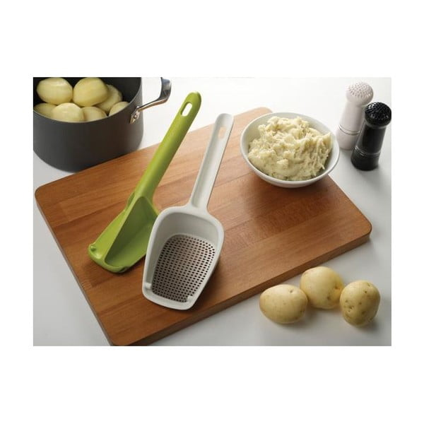 Mačkadlo na brambory Scoop Ricer, šedé