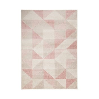 Covor Flair Rugs Urban Triangle, 133 x 185 cm, roz imagine