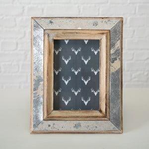 Dřevěný rám Boltze Tenn, na fotografii o velikosti 10x15cm