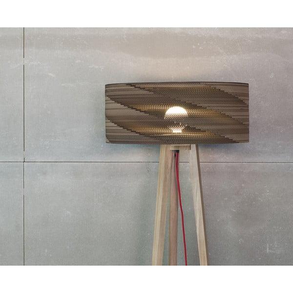 Kartonová stojací lampa Cardlamp