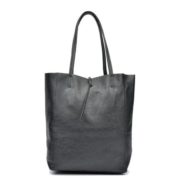 Černá kožená kabelka Sofia Cardoni Patula