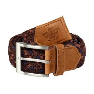 Vínový pásek s koženým detailem Gentlemen's Hardware