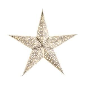 Dekorativní hvězda Mono Small White, 45 cm
