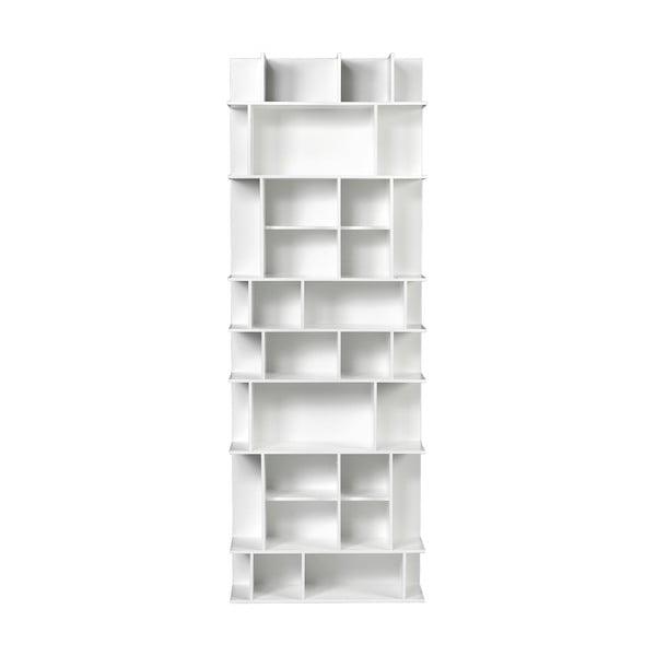 Vysoká bílá knihovna TemaHome Panorama
