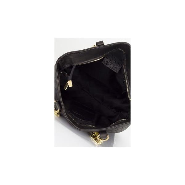 Kožená kabelka Lisa Minardi 6938 Black