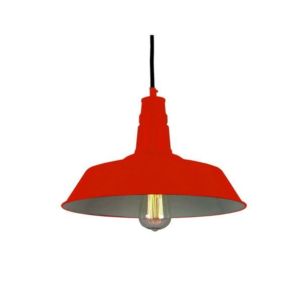Závěsná lampa Berlin, červená