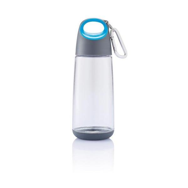 Modrá lahev s karabinkou XD Design Mini Bopp
