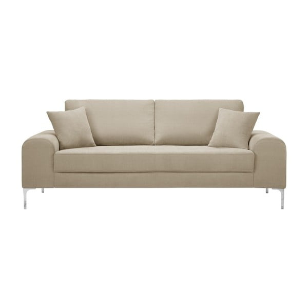 Set canapea gri deschis cu 3 locuri, 4 scaune albastre, o saltea 160 x 200 cm Home Essentials