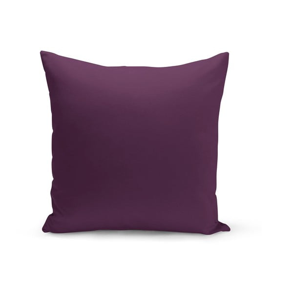 Fialový polštář s výplní Lisa, 43 x 43 cm