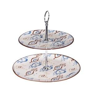 Suport din ceramică cu 2 etaje Ersi