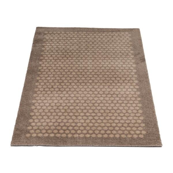 Hnědobéžová rohožka Tica copenhagen Dot, 67x120cm