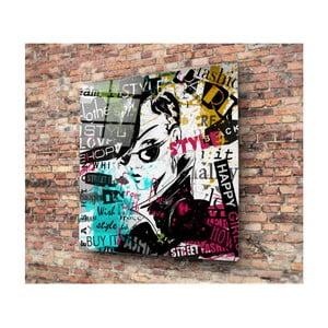 Skleněný obraz 3D Art Punkero, 50x50cm