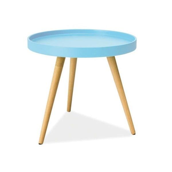 Konferenční stolek Toni 50 cm, modrý