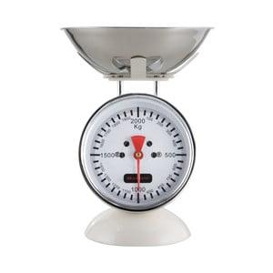 Bílá kuchyňská váha
