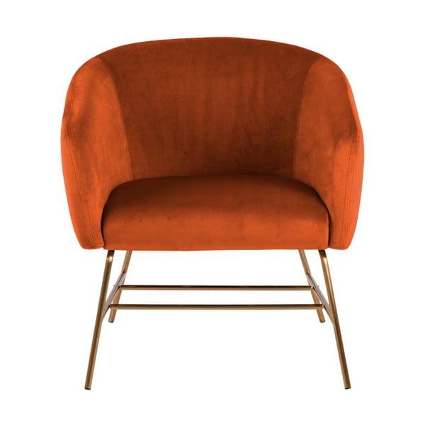 Oranžové křeslo Actona Ramsey