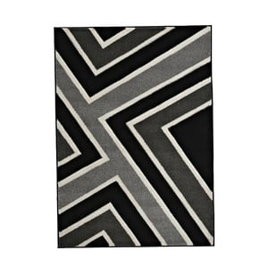 Koberec Matrix Grey Black 120x170 cm