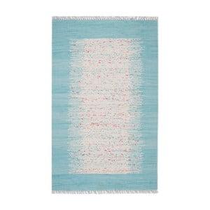 Covor Eco Rugs Akvile, 120 x 180 cm, albastru