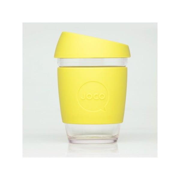 Cestovní hrnek na kávu Joco Cup 340 ml, žlutý
