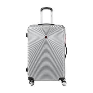 Šedý kufr na kolečkách Murano Traveller, 75 x 46 cm