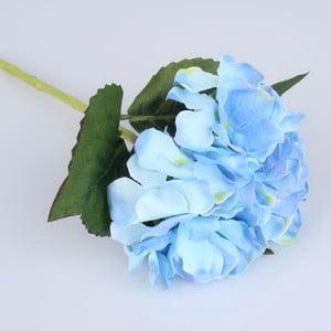 Umělý květ modré hortenzie Dakls