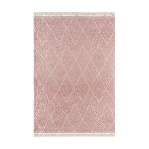 Růžový koberec Mint Rugs Galluya, 160x230cm