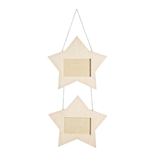 Závěsné rámečky Bizzotto Basic Star