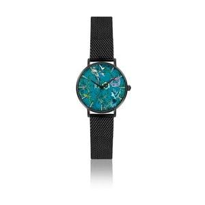 Dámské hodinky s páskem z nerezové oceli v černé barvě Emily Westwood Gardenia