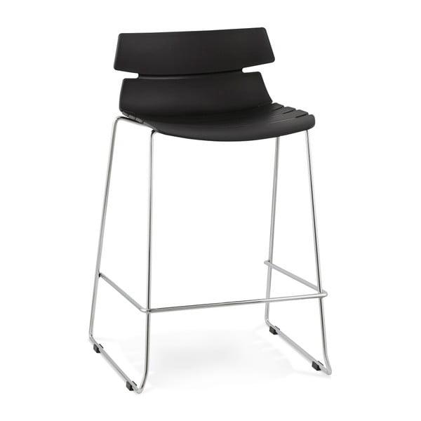 Čierna barová stolička Kokoon Reny, výška 64 cm