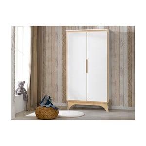 Bílá šatní skříň BEBE Provence Bonheur