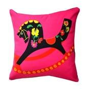 Polštář s náplní Folklor Pink, 50x50 cm