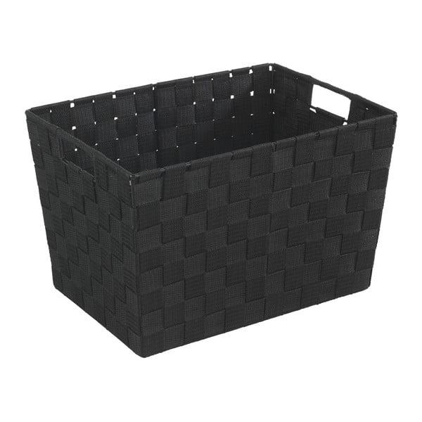 Czarny koszyk Wenko Adria, 25,5x35 cm