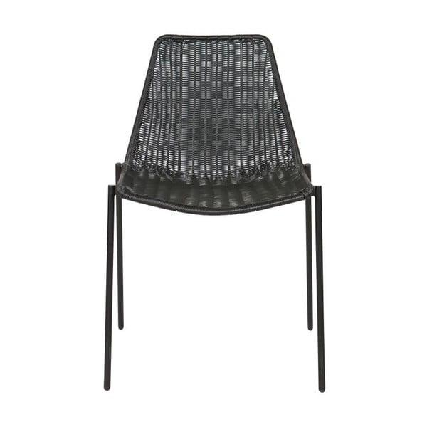 Sada 2 černých židlí Morris Black